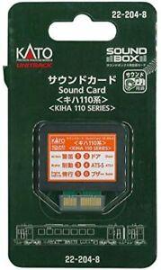 KATO sound card KIHA 110 system 22-204-8 model railroad supplies