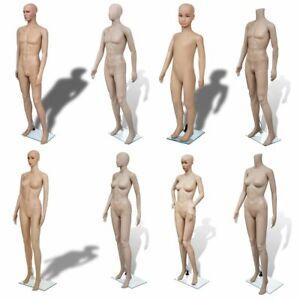 Female Male Child Mannequin Tailor Window Display Fashion Dressmaker 8 Models