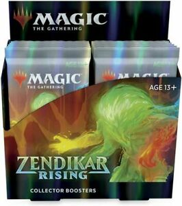 MTG Magic Zendikar Rising Collector Booster Box Sealed Free Shipping Canada
