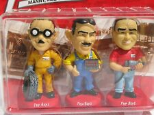 Pep Boys Bobblehead Hand Painted Set Limited Edition