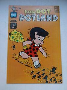 HARVEY: LITTLE DOT DOTLAND #19, FEAT. RICHIE RICH & LITTLE LOTTA, 1965, VF/NM!!!
