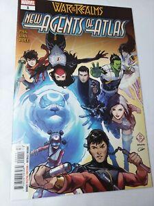 New Agents Of Atlas 1 NM Marvel