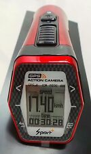 Caméra d'action Moto AC32 avec GPS, noir/rouge
