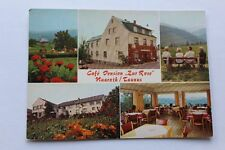 Vieja ak cafe pension Rose Heidenrod (Bad Schwalbach, Lorch) ~ 1960