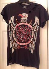 Drop Dead Slayer Eagle Tee Shirt Mens XS Good Condish