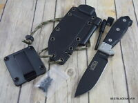 UTICA USA STEALTH IV FIXED BLADE HUNTING SURVIVAL KNIFE MADE IN USA WITH SHEATH