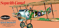 Guillows Sopwith Camel Balsa Plane Kit 1:12 Scale 801