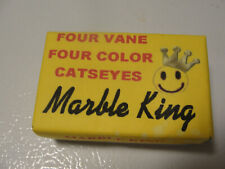 4 Vane 4 color box of Marble King marbles