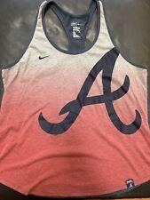Nike Atlanta Braves Tank Top Wonens Size XXL