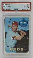1969 Topps #120 Pete Rose PSA 6