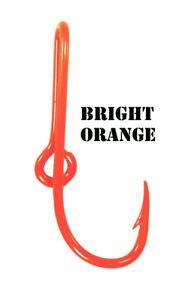 Orange Fish Hook Hat Pin Orange Eagle Claw Fish Hook Tie Clip