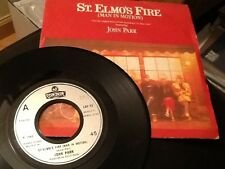 JOHN PARR . ST ELMO'S FIRE ( MAN IN MOTION ) / TREAT ME LIKE AN ANIMAL  .1985