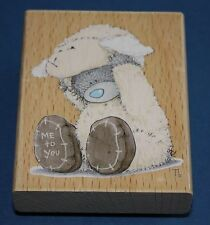 """Nouveau Docrafts Me to You Tatty Teddy Bleu Nez """"Little Lamb"""" EASTER rubber stamp"""