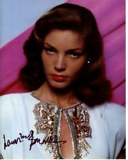 LAUREN BACALL signed autographed photo (4)