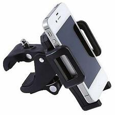 Diamond Plate Adjustable Motorcycle Bicycle Phone Mount Lockable Foam Padding