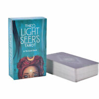 78x The New Light Seer's Tarot Cards Decks English Board Home Party Games Gif YK