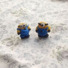 Minion Stud Earrings Mix Of Eyes Handmade Birthday Gift Ideas Party Bag Fillers