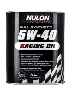 Nulon Racing Oil Full Synthetic 5W-40 1L NR5W40-1 fits Aston Martin Vanquish ...