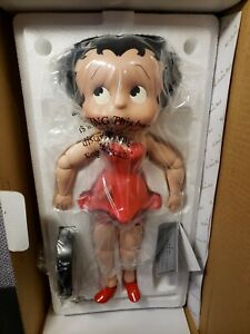 VINTAGE BETTY BOOP PORCELAIN COLLECTOR DOLL 2005 DANBURY MINT NRFB
