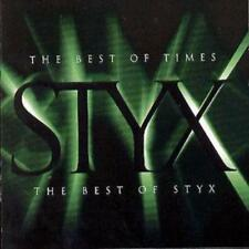 Styx : The Best Of Times: The Best Of Styx CD (1997) ***NEW***