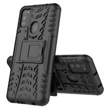 For Samsung Galaxy M30s Case AMZER Warrior Dual Layer Cover with Stand