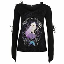 Cotton V Neck Long Sleeve Graphic T-Shirts for Women