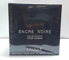 Encre Noire BY Lalique, 3.3 oz / 100 ml Eau De Toilette Spray for Men NEW
