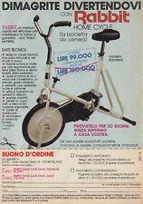 X3041 Bicicletta da Camera RABBIT - Pubblicità d'epoca - 1984 old advertising