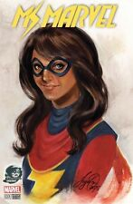All New Ms Marvel  #1 color Phantom variant!! MARVEL! Sya Oum! Free Shipping!!