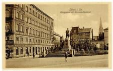 53212991 - 8700 Loebau Konogsplatz Denkmal Bismarck Hotel Alberthof