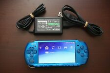 PlayStation Portable PSP-3000 Vibrant Blue Console Japan system US Seller