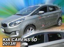 Deflettori D/'aria Antiturbo per Kia Carens 4 IV 5 porte 2013-2018 2pz Heko