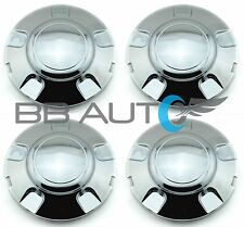 1997-2003 FORD EXPEDITION CHROME WHEEL HUB CENTER CAPS SET NEW