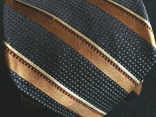 "Ike Behar New York Mens Necktie Classic Woven Silk Jacquard Stripe 59"" Neck Tie"