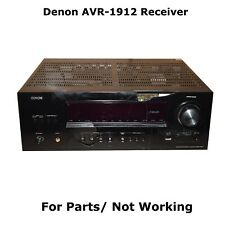 Denon AVR-1912 7.1 Home Theater Receiver For Parts/ Not Working READ!!!