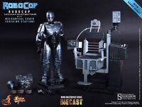 "Robocop Docking Station Mechanical Chair Diecast 12"" Figur MMS202 D05 Hot Toys"