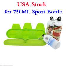 USA! 3D Sublimation Silicone Mug Clamp Heat Press Mug Mold Wrap for 750ML bottle