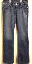 GUESS DAREDEVIL - Women's BOOTCUT STRETCH JEANS - Size: TALL  26