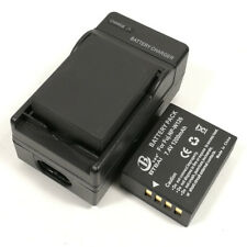 Mains Charger +2x Battery for Fuji NP-W126S FinePix X100F X-Pro2 X-Pro1 X-T10