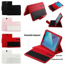 """For Samsung Galaxy Tab A S2 S3 9.7"""" Tablet Bluetooth Keyboard Leather Case Cover"""