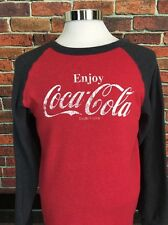 Vintage Coca Cola Long Sleeve Multi Color Sweater Size Medium