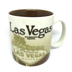 Starbucks Las Vegas Mug Collectible Global Icon 2012