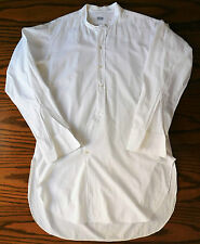Vintage Edwardian tunic shirt size 16.5 Robinson & Cleaver day wear REPAIRED