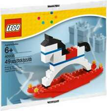 LEGO #40035 SEASON CHRISTMAS ROCKING HORSE RETIRED RARE NEW LA005