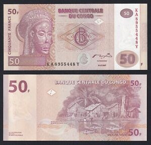 Congo 50 francs 2003 FDS/UNC  A-06