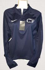 Nike Women's Penn State Nittany Lions Blue Half-Zip Pullover Shirt Medium NWT
