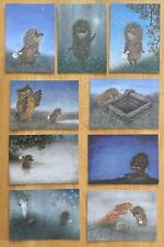 Hedgehog in the Fog film by Norstein/Norshteyn Postcards Set #1 (9 cards)