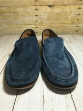 Men's Cole Haan Blue Suede Loafers Size 10.5 M