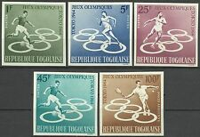 Togo Sport Jeux Olympiques Tokyo Olympics Games Non Denteles Imperfs ** 1964