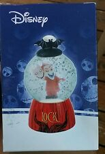 Disney nightmare before christmas Lock lighted snow globe